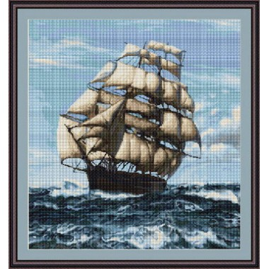 """Набор для вышивки Luca-S G438 """"Корабль"""""""