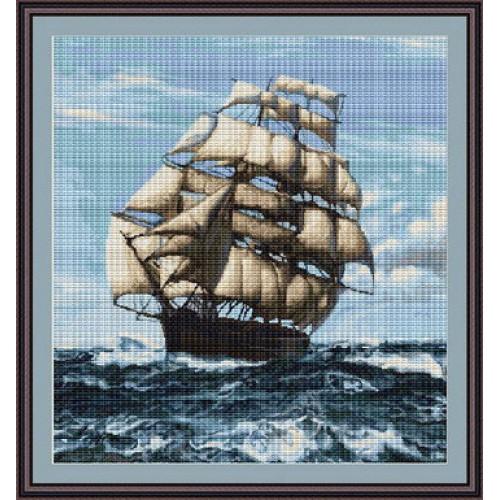 Вышивка крестом корабль наборы