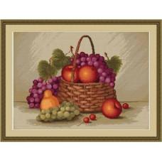 """Набор для вышивки Luca-S G450 """"Натюрморт с яблоками"""""""
