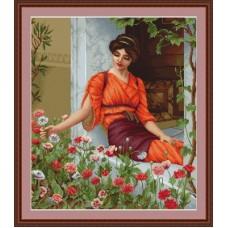 """Набор для вышивки Luca-S G474 """"Летние цветы"""""""