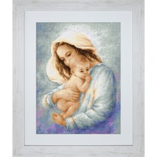 """Набор для вышивки Luca-S G537 """"Мать и дитя"""""""