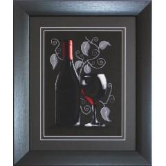 "Набор для вышивки Luca-S B2220 ""Бутылка с вином"""