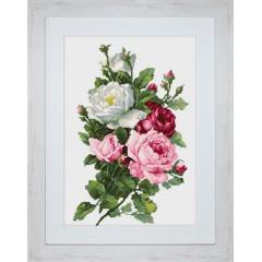 """Набор для вышивки Luca-S B2285 """"Букет из роз"""""""