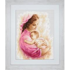 """Набор для вышивки Luca-S B536 """"Мать и дитя"""""""