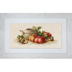 "Набор для вышивки Luca-S BL2249 ""Натюрморт с овощами"""