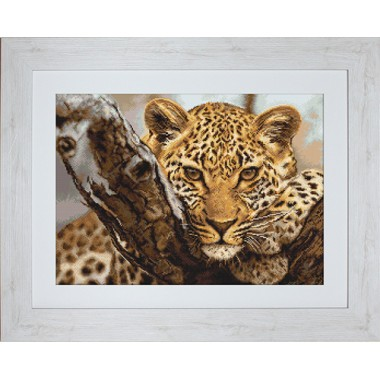 "Набор для вышивки гобелен Luca-S G525 ""Леопард"""