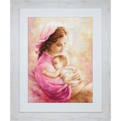 """Набор для вышивки гобелен Luca-S G536 """"Мать и дитя"""""""