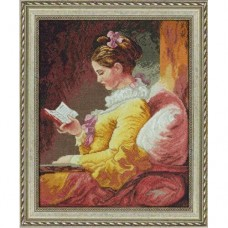"""Набор для вышивания Bucilla 45461 """"Девушка читает"""""""