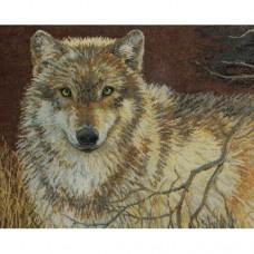 """Набор для вышивания Bucilla 45477 """"Серый волк"""""""