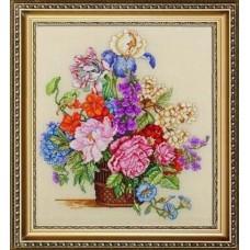 """Набор для вышивания Bucilla 45628 """"Весенние цветы"""""""