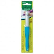 Акриловый крючок для вязания с мягкой ручкой Amour Clover Япония 15.0мм Art 1059/PQ