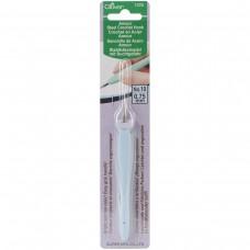 Крючок для вязания стальной Amour Clover 1225 с мягкой ручкой 0.75 мм