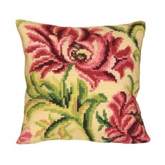 """Набор для вышивания Collection D'Art 5010 Подушка """"Elegant Rose Left"""""""