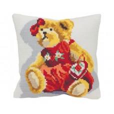 """Набор для вышивания Collection D'Art 5071 Подушка """"Teedy Bear"""""""