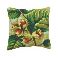 """Набор для вышивания Collection D'Art 5089 Подушка """"Green Wood Summer"""""""