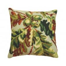 """Набор для вышивания Collection D'Art 5090 Подушка """"Green Wood Autumn"""""""