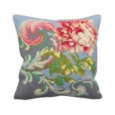 """Набор для вышивания Collection D'Art 5127 Подушка """"Baroque Pastel"""""""