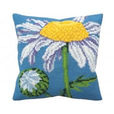"""Набор для вышивания Collection D'Art 5133 Подушка """"Daisy"""""""