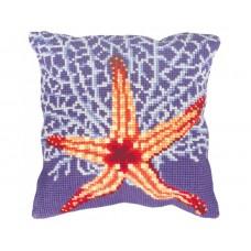 """Набор для вышивания Collection D'Art 5146 Подушка """"Coral Reef"""""""