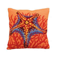 """Набор для вышивания Collection D'Art 5147 Подушка """"Coral Reef"""""""
