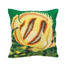 """Набор для вышивания Collection D'Art 5151 Подушка """"Tropical Fish"""""""