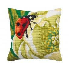 """Набор для вышивания Collection D'Art 5172 Подушка """"Lady bug"""""""