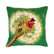 """Набор для вышивания Collection D'Art 5221 Подушка """"The dandelion"""""""