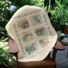 Набор для вышивки Dimensions 03235. Одеяло природы
