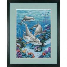 """Набор для вышивки Dimensions 03830 """"Дельфинье царство"""""""