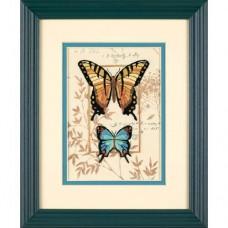 """Набор для вышивки Dimensions 06234 """"Дуэт бабочек"""""""