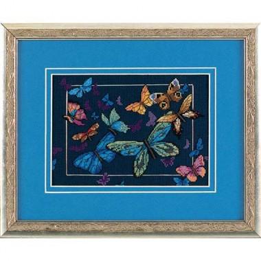 """Набор для вышивки Dimensions 06846 """"Экзотические бабочки"""""""