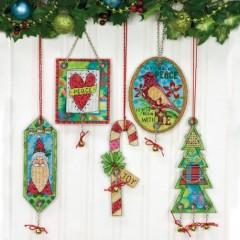 Набор для вышивки крестом Dimensions 70-08868 Рождество приближается. Украшение