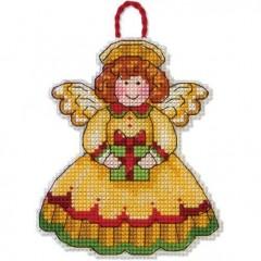 Набор для вышивки крестом Dimensions 70-08893 Ангел. Украшение