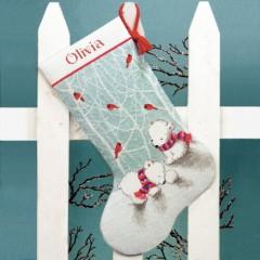 """Набор для вышивки Dimensions 70-08902 """"Снежные мишки"""""""