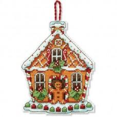 Набор для вышивки крестом Dimensions 70-08917 Пряничный домик. Украшение