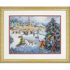 """Набор для вышивки Dimensions 70-08919 """"Зимние праздники"""""""
