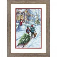 Набор для вышивки крестом Dimensions 70-08960 Рождественская традиция
