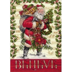Набор для вышивки Dimensions 70-08980 Belive in Santa