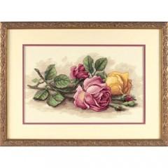 """Набор для вышивки Dimensions 13720 """"Срезанные розы"""""""