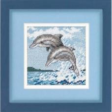 """Набор для вышивки Dimensions 17046 """"Танец дельфинов"""""""