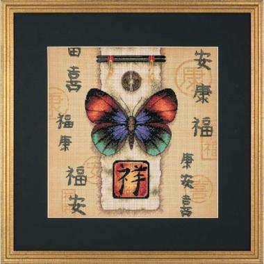 """Набор для вышивки Dimensions 35034 """"Восточная бабочка"""""""