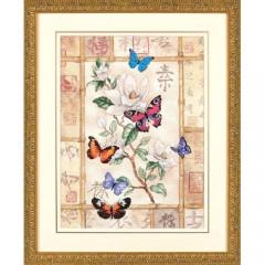 """Набор для вышивки Dimensions 35063 """"Сверкающая бабочка"""""""
