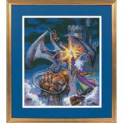 """Набор для вышивки крестом Dimensions 35080 """"Величественный волшебник"""""""