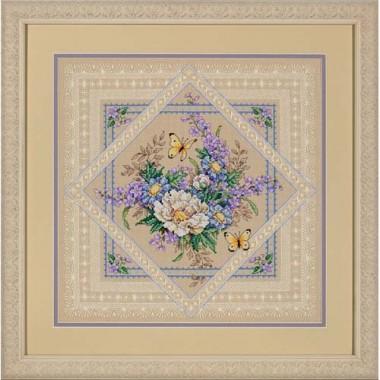"""Набор для вышивки крестом Dimensions 35105 """"Растения и кружева"""""""
