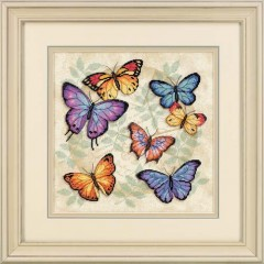 """Набор для вышивки крестом Dimensions 35145 """"Множество бабочек"""""""