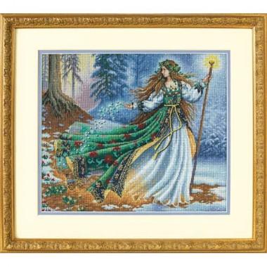 """Набор для вышивки Dimensions 35173 """"Лесная колдунья"""""""