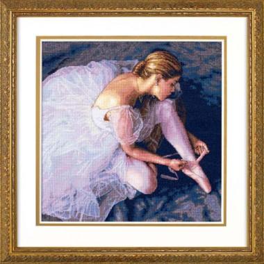 """Набор для вышивки Dimensions 35181 """"Прекрасная балерина"""""""