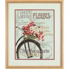 """Набор для вышивки Dimensions 35195 """"Парижский велосипед"""""""