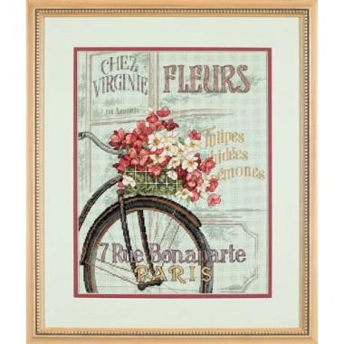 """Набор для вышивки крестом Dimensions 35195 """"Парижский велосипед"""""""