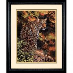 """Набор для вышивки Dimensions 35209 """"Взгляд леопарда"""""""